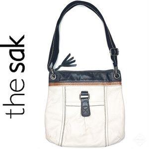 The Sak Crossbody Bag Calico Colored Gently Used